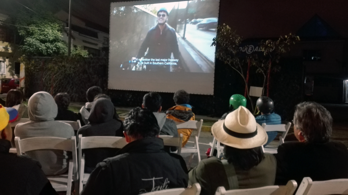 urban movies quito