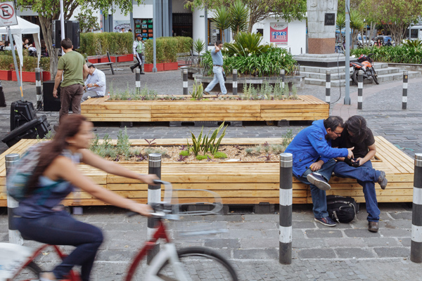 Presentations at Habitat III about Public Space and Cycling