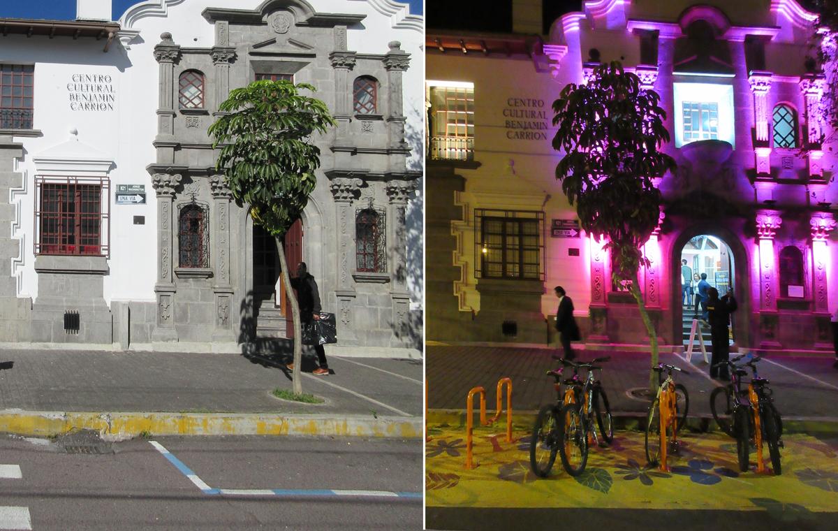 Centro Cultural Benjamin Carrion Philips Lightning