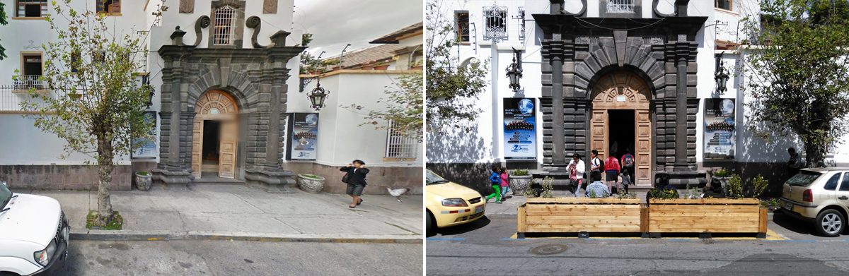 add public space in quito