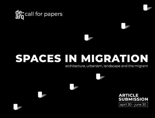 Call for papers: SPACES IN MIGRATION
